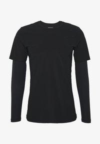 Björn Borg - AVERY TEE - Print T-shirt - black beauty - 3