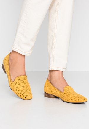 Loafers - saffron
