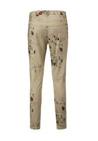 Alba Moda - Trousers - beige,pfirsich,schwarz - 8
