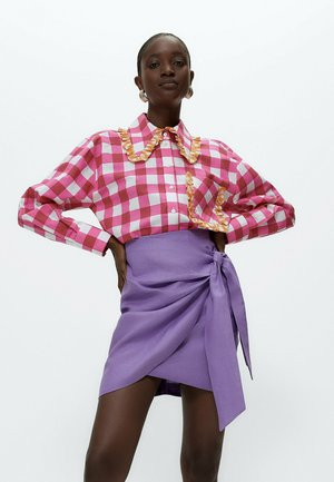 VICHYKAROS - Button-down blouse - pink