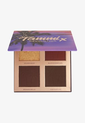 REVOLUTION X TAMMI GOLDEN HOUR DEEP DARK FACE PALETTE - Gezichtspalet - deep dark