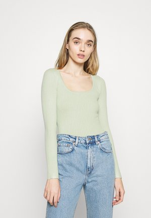 Sweter - light green