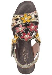 LAURA VITA - Platform sandals - grey - 1