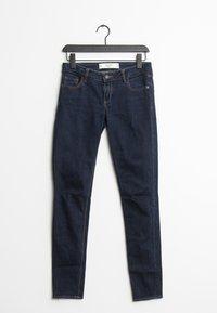 Abercrombie & Fitch - Slim fit jeans - blue - 0