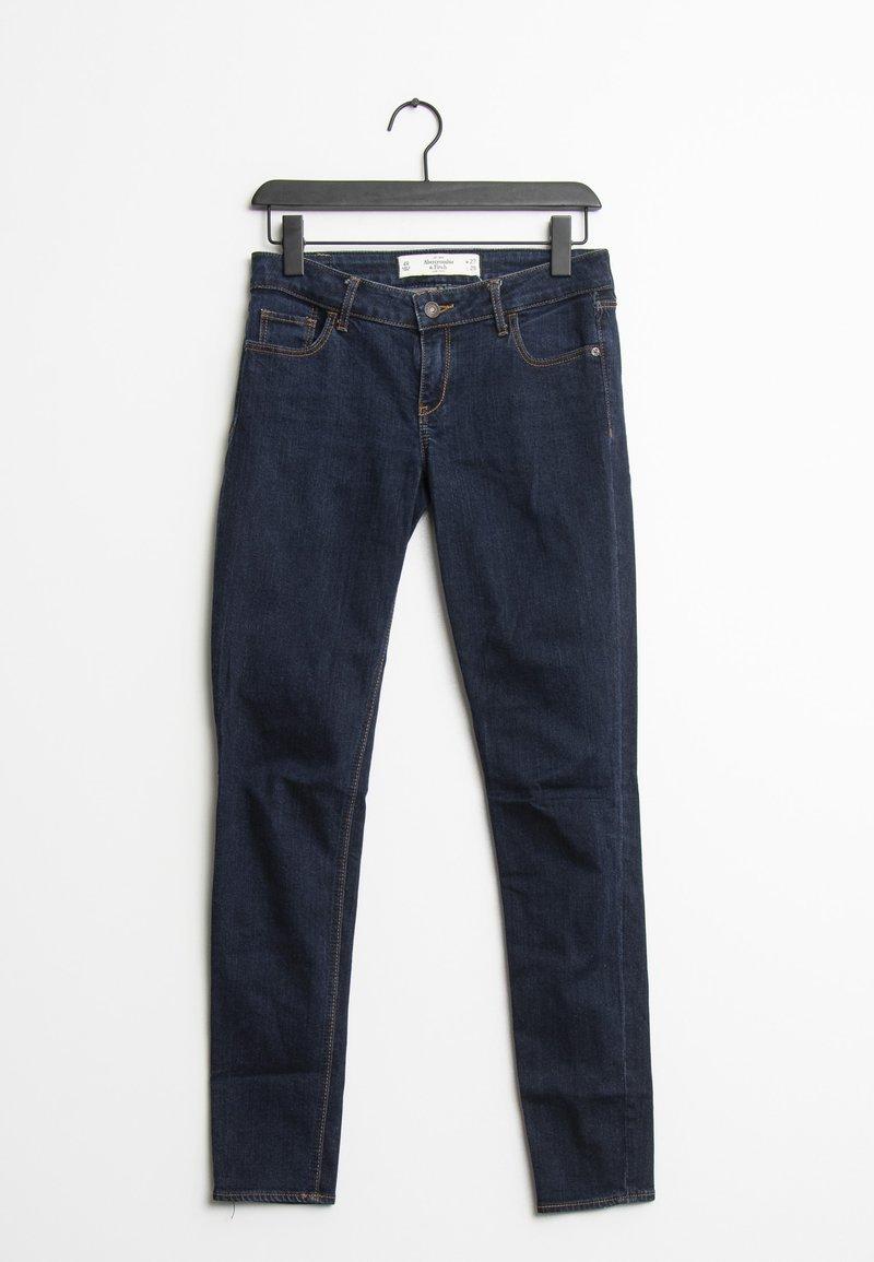 Abercrombie & Fitch - Slim fit jeans - blue