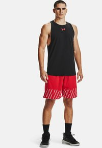 Under Armour - Top - black  red  red - 1