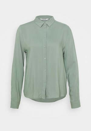 BYIDRA - Button-down blouse - iceberg green