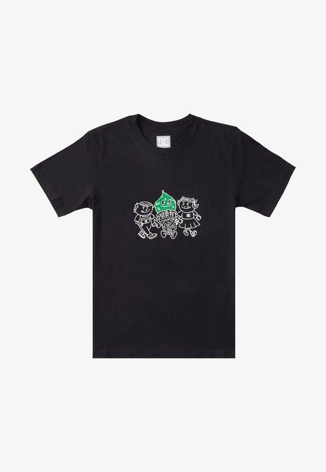 DRIP WALK  - T-shirt print - black