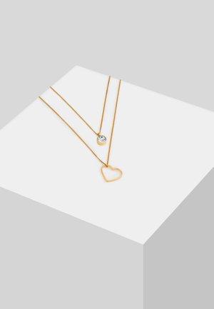 GLASS CRYSTAL - Collar - gold