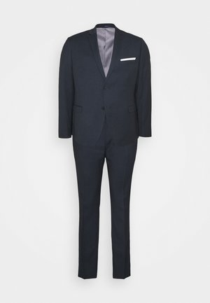 BLUE BIRDSEYE SUIT - Costume - dark blue