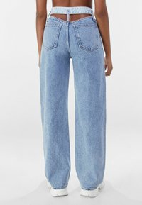 Bershka - Flared jeans - light blue - 2