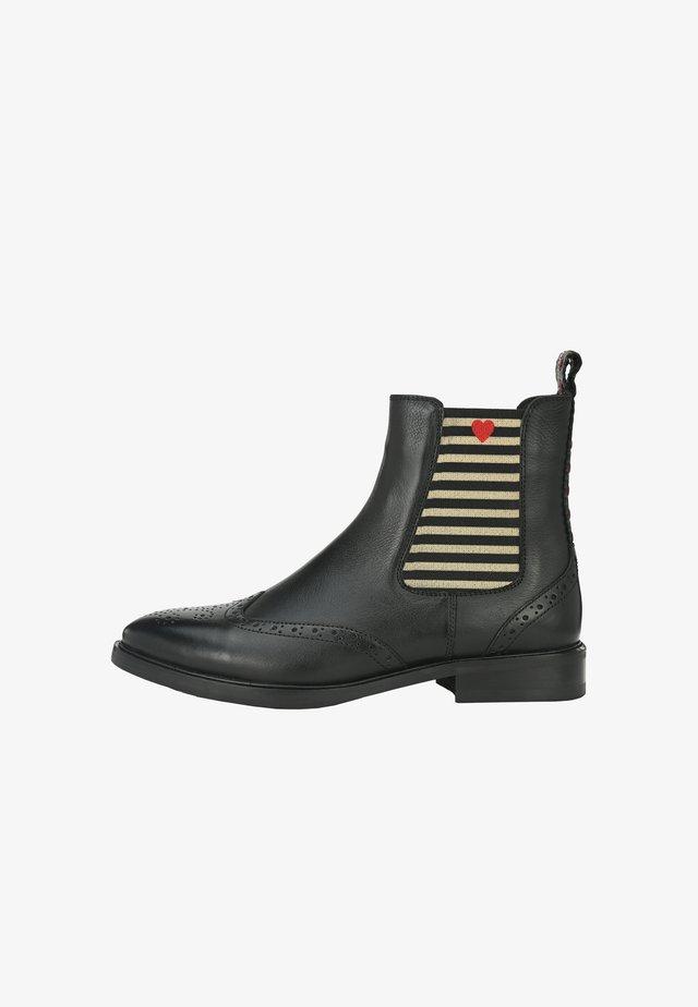 TONI  - Korte laarzen - schwarz