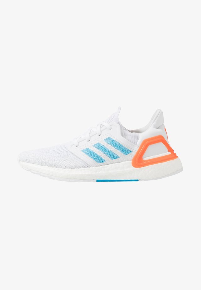 ULTRABOOST 20 - Neutrale løbesko - footwear white/sharp blue/true orange