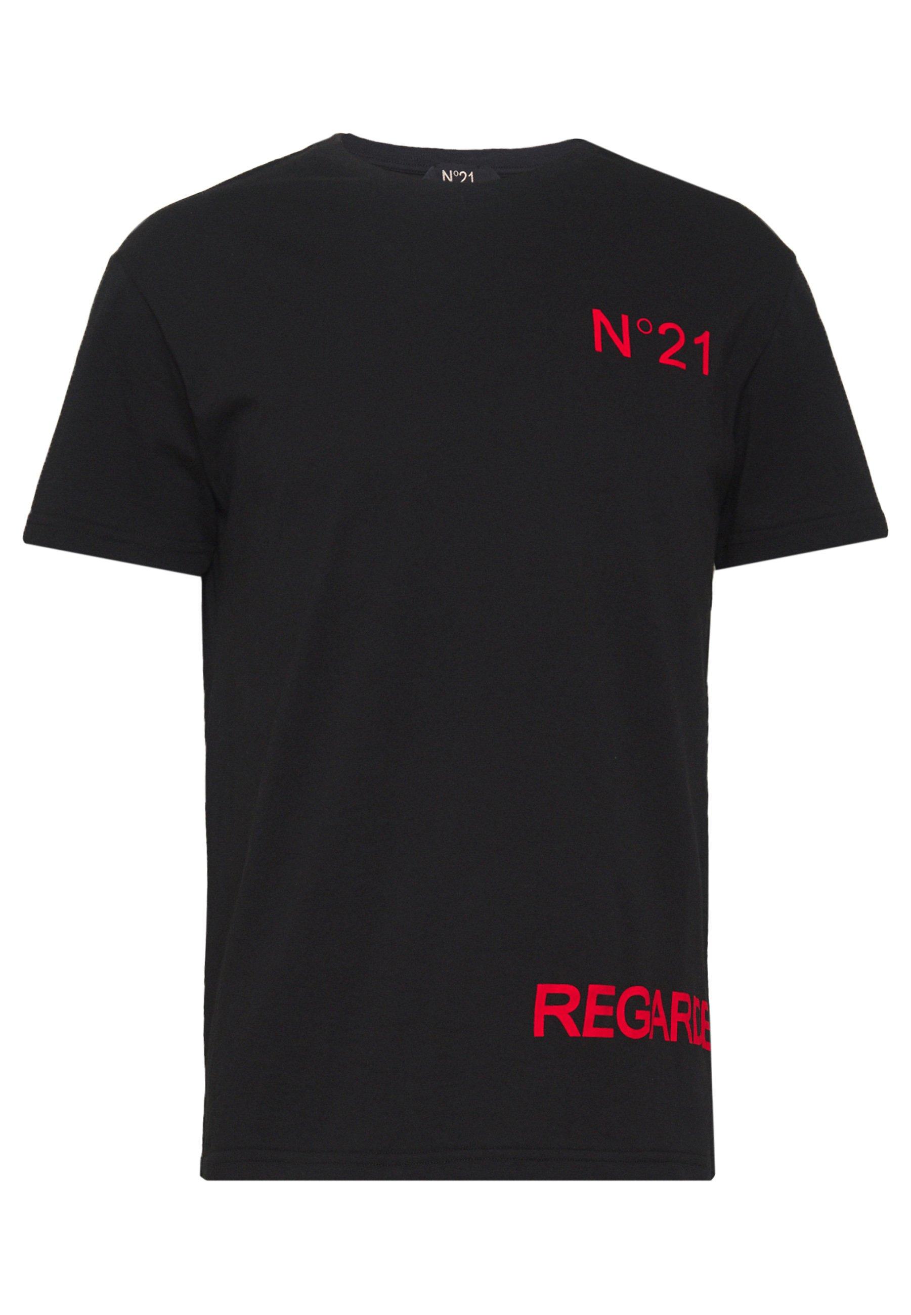 N°21 T-shirt imprimé - black