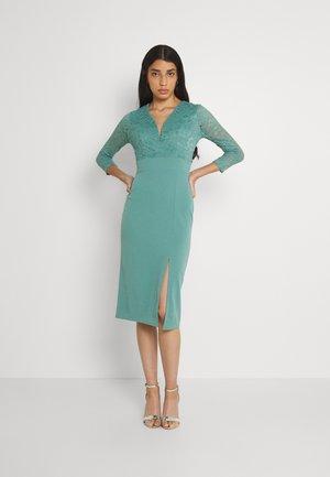 GAYLE MIDI DRESS - Jersey dress - sage green