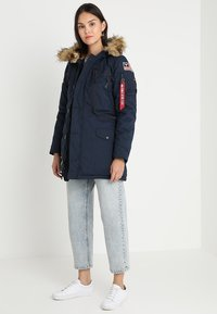Alpha Industries - POLAR JACKET - Vinterkappa /-rock - blue - 1