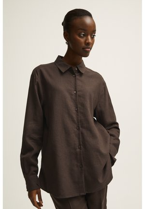 ELLE  - Overhemdblouse - brown