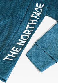 The North Face - M TRAIN N LOGO CREW - Collegepaita - mallard blue - 3