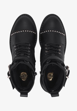 FINCH - Lace-up ankle boots - schwarz