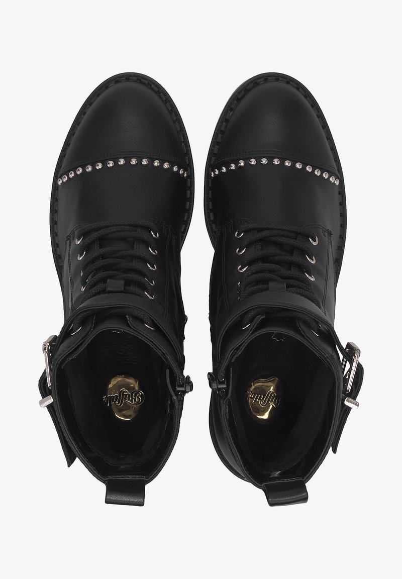 Buffalo - FINCH - Lace-up ankle boots - schwarz