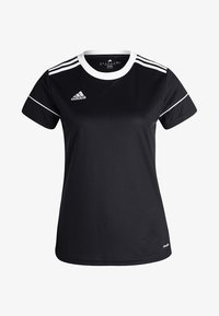 adidas Performance - CLIMALITE PRIMEGREEN JERSEY SHORT SLEEVE - T-shirt med print - black/white - 4