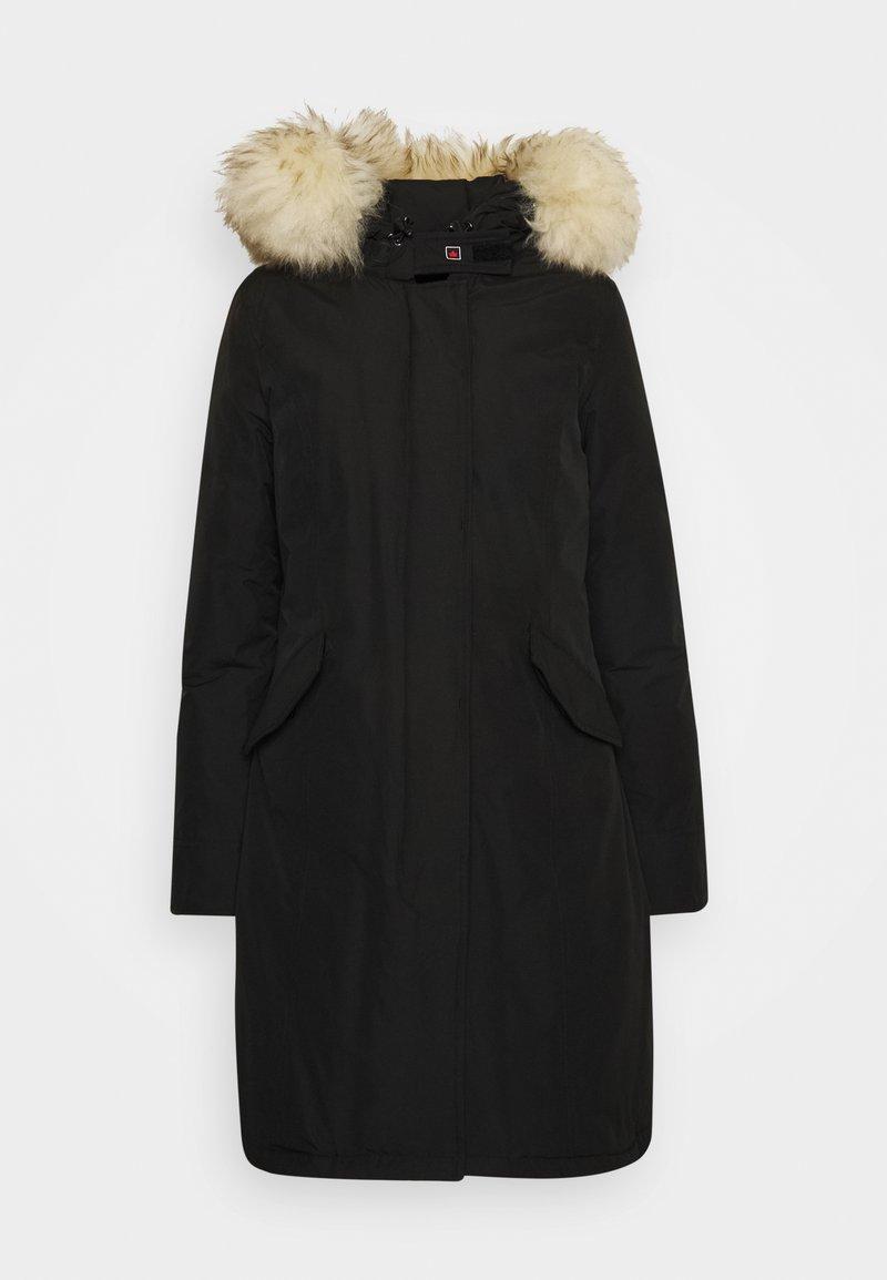 Canadian Classics Fundy Bay Long Down Coat Black Zalando Co Uk