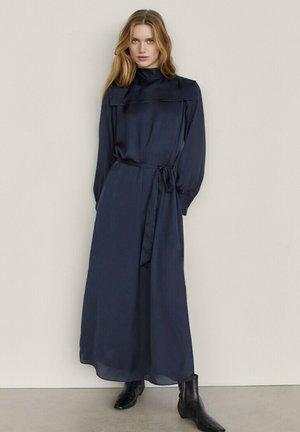 Maxi dress - blue-black denim