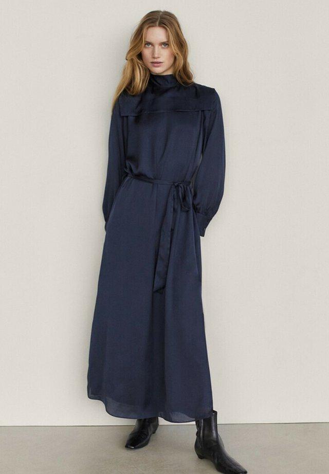 Maxi-jurk - blue-black denim