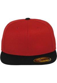 Flexfit - Cap - red/blk - 4