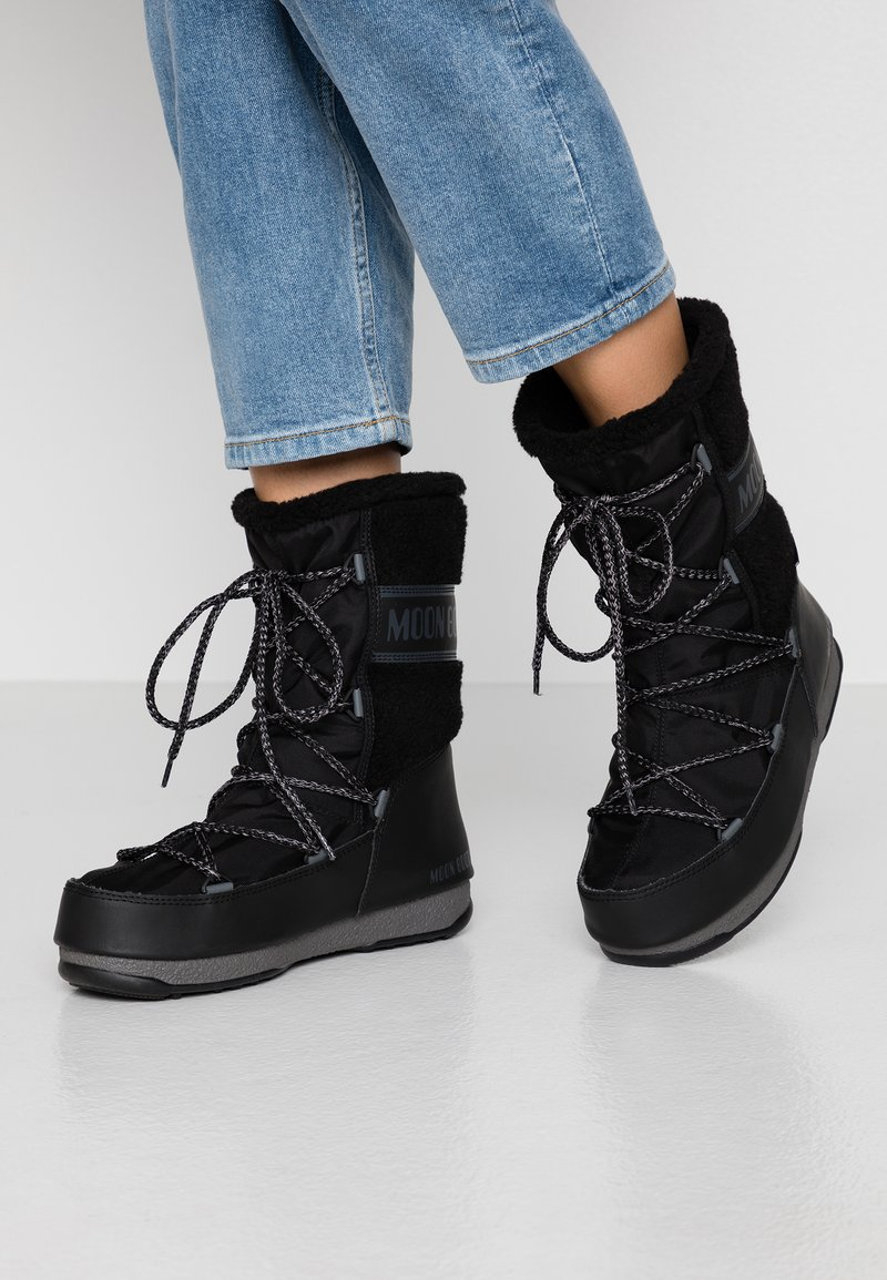 Moon Boot - MONACO MID WP - Winter boots - black
