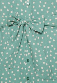 King Louie - ROSIE MIDI DRESS DOMINO DOT - Shirt dress - spar green - 3