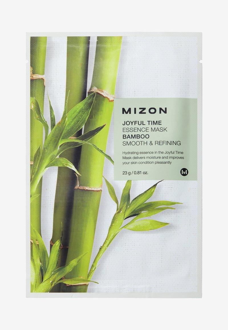 Mizon - JOYFUL TIME ESSENCE BAMBOO 4 MASKS PACK - Skincare set - -