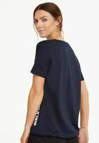 comma casual identity - Sweatshirt - marine - 4