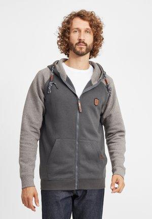 TERENCE - Zip-up hoodie - grey mix