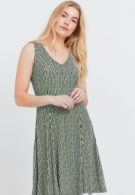 Mujer FRANSA - Vestido ligero - green white