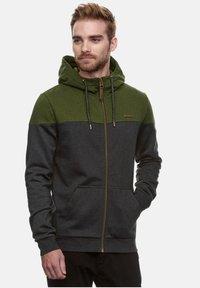 Ragwear - TOMMIE - Zip-up hoodie - olive - 0