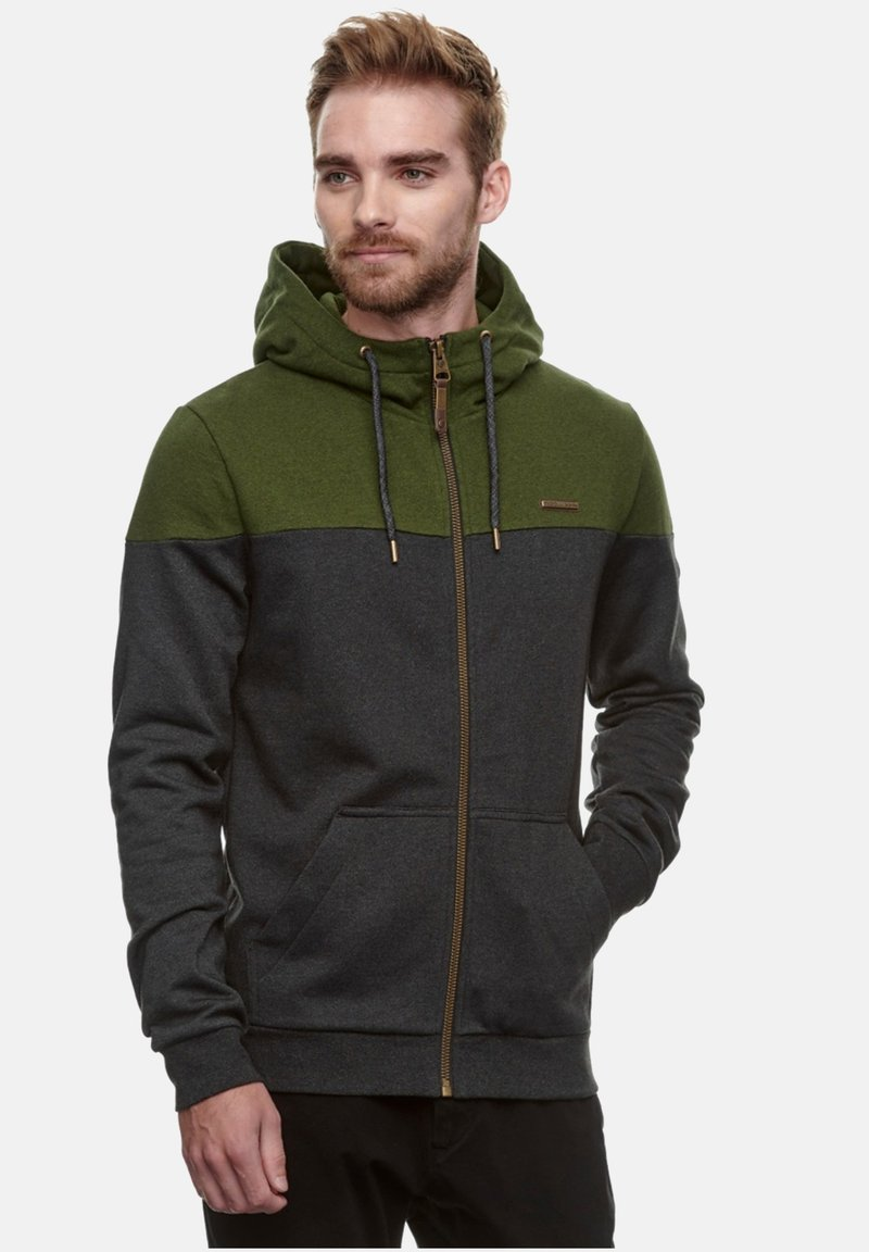Ragwear - TOMMIE - Zip-up hoodie - olive