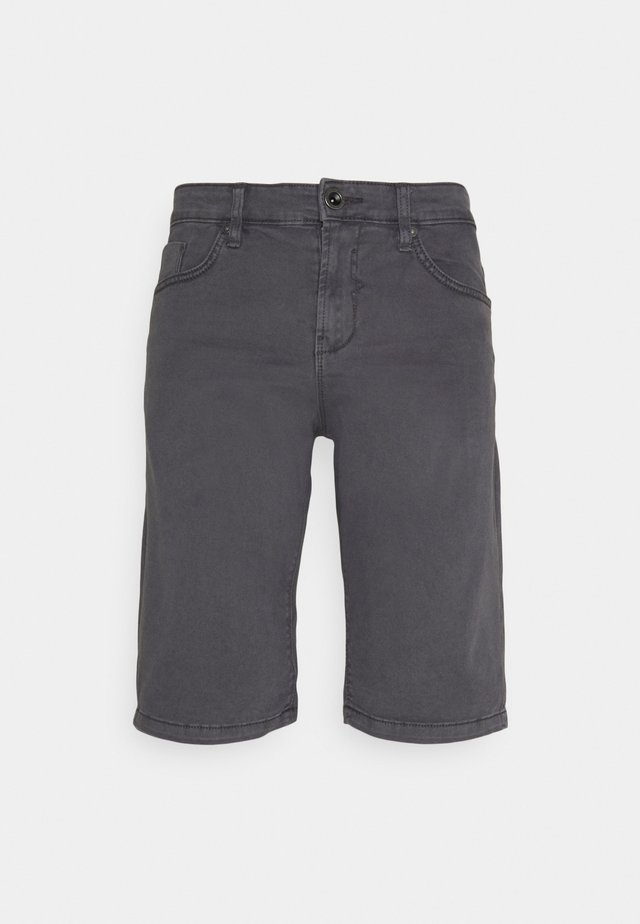LUCKY FIVE POCKET - Denim shorts - dark grey
