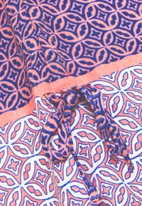 comma casual identity - Blouse - salmon/dark blue - 6