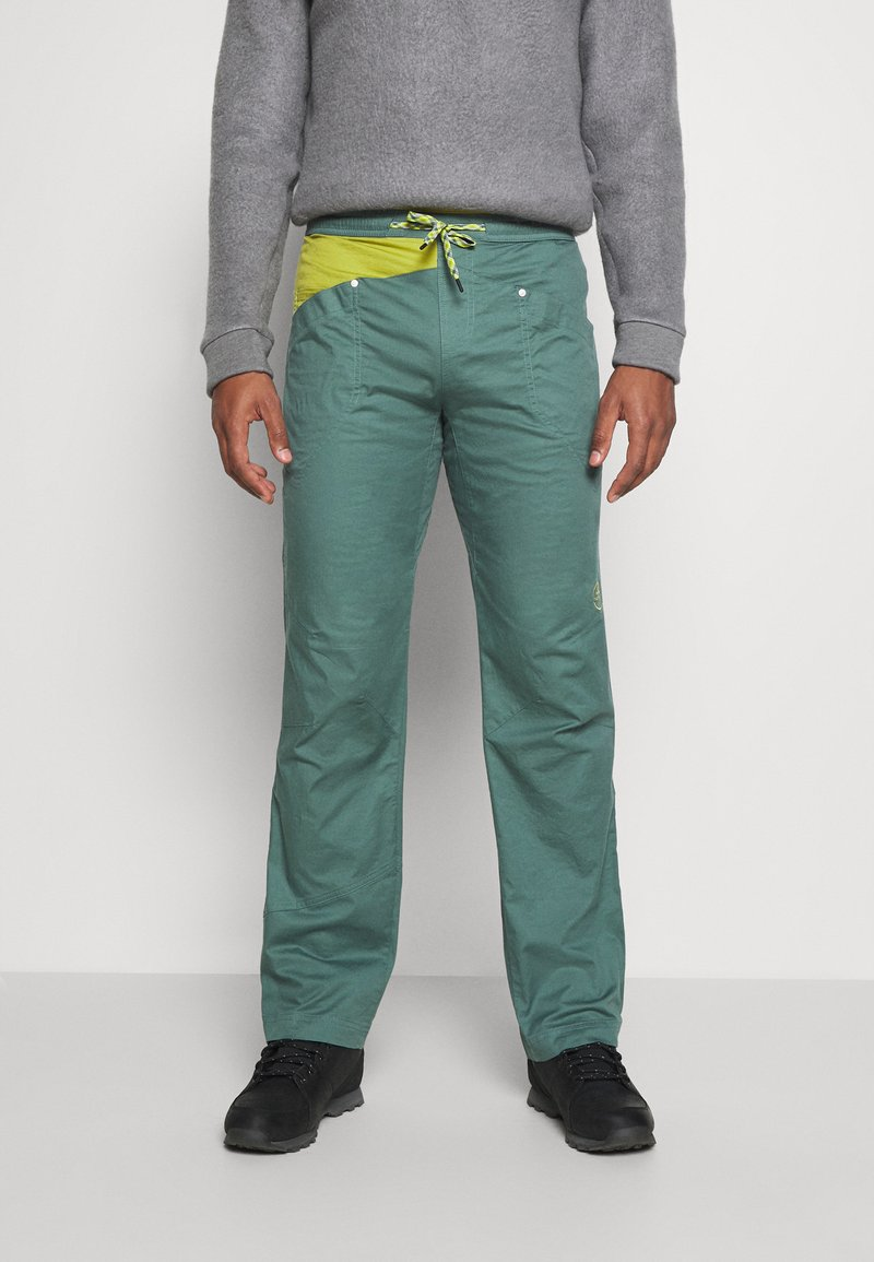 La Sportiva - BOLT PANT  - Outdoor trousers - pine/kiwi