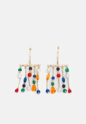 BEAD MOBILE DROP - Earrings - multicoloured