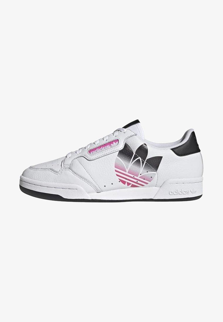 adidas Originals - CONTINENTAL 80 - Matalavartiset tennarit - white/black