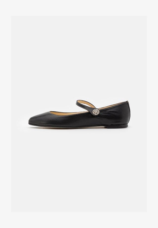 PAOLO - Ballet pumps - noir
