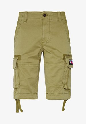 SOLID - Kraťasy - uniform olive