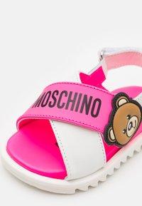 MOSCHINO - Sandals - light pink/white - 5