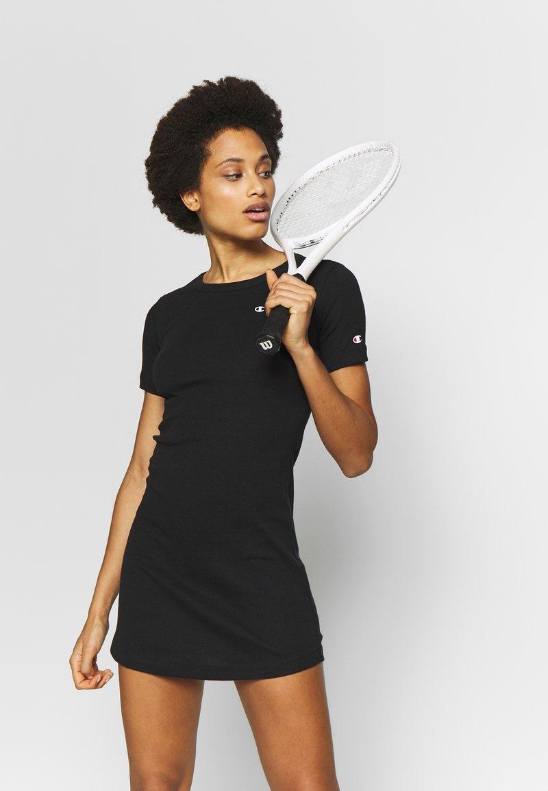 Champion - DRESS - Sportovní šaty - black