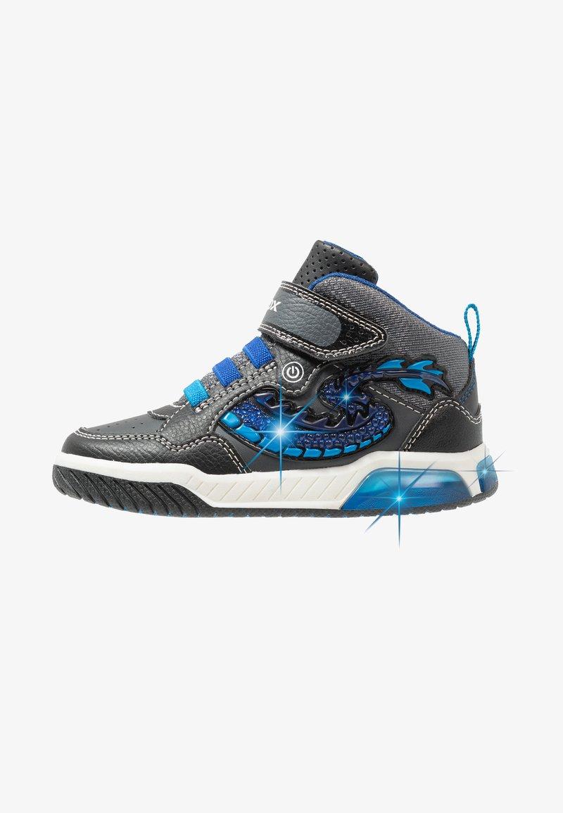 Geox - INEK BOY - Sneaker high - black/royal
