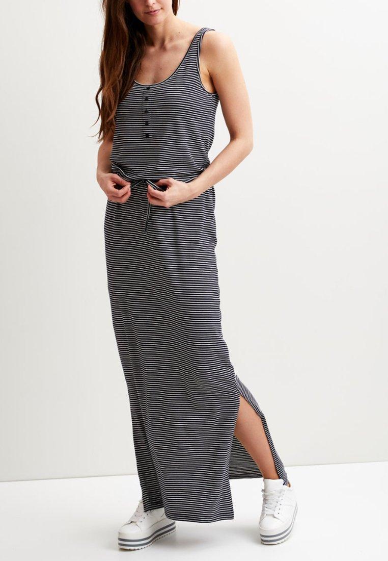 Object - OBJSTEPHANIE MAXI DRESS  - Maxi dress - mood indigo