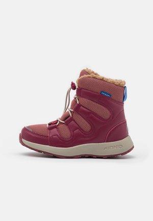 HUIPPU UNISEX - Winter boots - rose/beet red