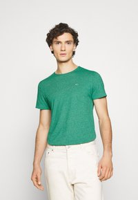 Tommy Jeans - ESSENTIAL JASPE TEE - T-shirt basic - midwest green - 0
